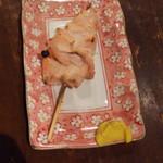 もつ焼 登運とん - 豚ミノ焼き