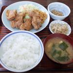 味処いちむら - 鶏唐揚げ定食(850円)