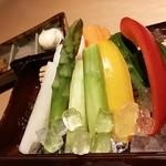 辻が花 - 彩り有機生野菜
