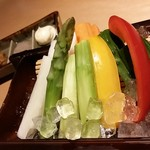 64403056 - 彩り有機生野菜