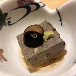 辻が花 - ごま豆腐