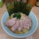 武蔵家 - 2017年2月 チャーシューメン並 850円