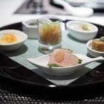 中国料理 翡翠宮 - 中国各地 彩り前菜盛り合わせ