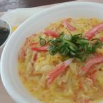 米米Bar - 料理写真:カニ玉丼とスープ◎