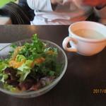グリーンハウスシルバ - サラダ&スープ