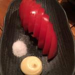 魚哲 - 冷やしトマト