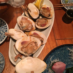 魚哲 - 大ハマグリ