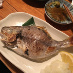 魚哲 - エボ鯛塩焼き