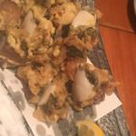 魚哲 - ツブ貝の天ぷら