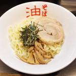 東京麺珍亭本舗 - 油そば(並盛600円)