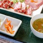 炎 - ナムル&スープ