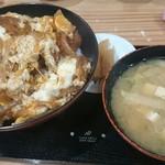 食堂こまつ - カツ丼♪
