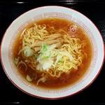 駅ナカ食堂 なの花 - かけラーメン・正油(400円)