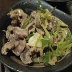 Izakayanomuzu - 砂肝のピリ辛和え