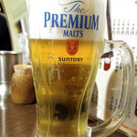 Izakayanomuzu - 生ビール(プレモル)