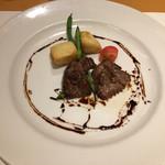 ルーチェ - メカジキのほお肉バルサミコソース