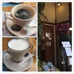 64409683 - コーヒー、ミルク、入口