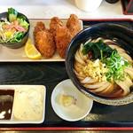 荒木伝次郎 - カキフライセット