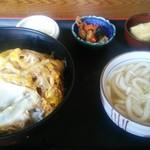 麦屋 - 料理写真:かつとじ丼定食