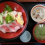 市場の食堂 金目亭 - 2017年2月 炙り金目丼 1500円