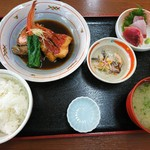 市場の食堂 金目亭 - 2017年2月 極上金目煮付定食 1500円