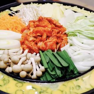 韓国でも大人気!!チーズタッカルビ