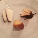 ブルールーム - チーズ盛り合わせ