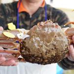 Kawaki - 料理写真:頂く松葉蟹