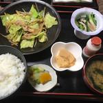 喜せん - 日替わりランチ*野菜炒め定食