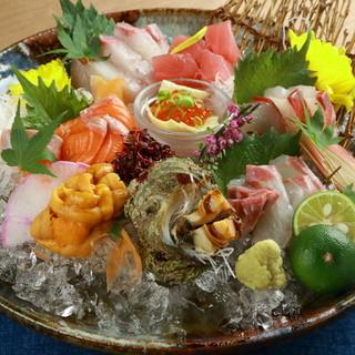 こだわりの海鮮料理