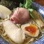 64419009 - 煮干しそば 白醤油@680円(税込)