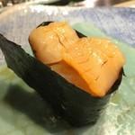 第三春美鮨 - 小柱おかわり
