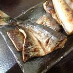 備長炭や いこる - 秋刀魚