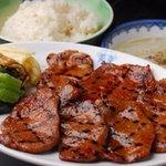 牛たん一福 - 料理写真:味噌漬け牛たん定食