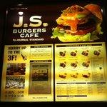 J.S. BURGERS CAFE - 1F入口/メニュー