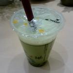 パールレディ 茶 BAR - 霧抹茶ラテ(HOT):390円