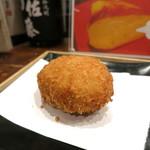 夢酒知花 - カニコロッケ