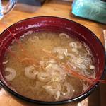 味創 - 海老の味噌汁