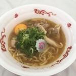 新旬屋 麺 - 金の鶏塩中華800円
