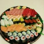 金太郎寿し - 江戸前握り→2580円