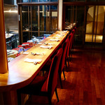 明道町中国菜 一星 - ライブ感のある素敵なカウンター席