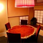 明道町中国菜 一星 - 入口近くにある個室