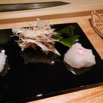すし瀬名波 - 鳴門産真鯛