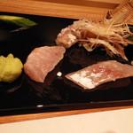 すし瀬名波 - カマス,金目鯛
