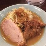 立川マシマシ - ♪ラーメン小¥750肉マシ¥200