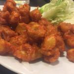 Gyouzanoantei - 鶏なんこつのコリコリ揚げ 390円