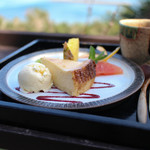 和カフェたらそ - チーズケーキセット☆