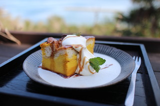 和カフェたらそ - かぼちゃのパンプリンセット☆