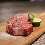 A5焼肉&手打ち冷麺 二郎 - シャトーブリアン Steak☆