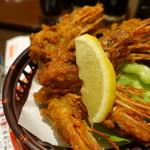 大起水産回転寿司 - 赤えび頭唐揚げ
